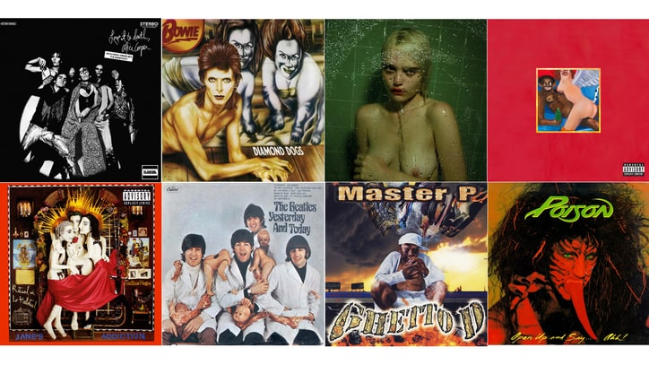 Banned in the U.S.A.: 20 Wildest Censored Album Covers