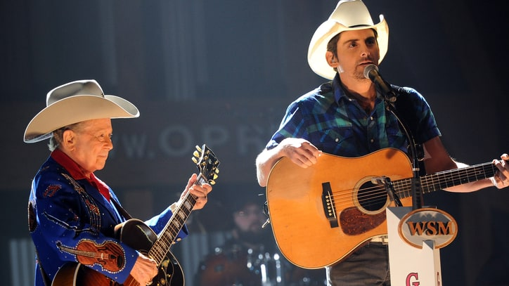 Watch Brad Paisley's Moving Performance at Little Jimmy Dickens' Memorial