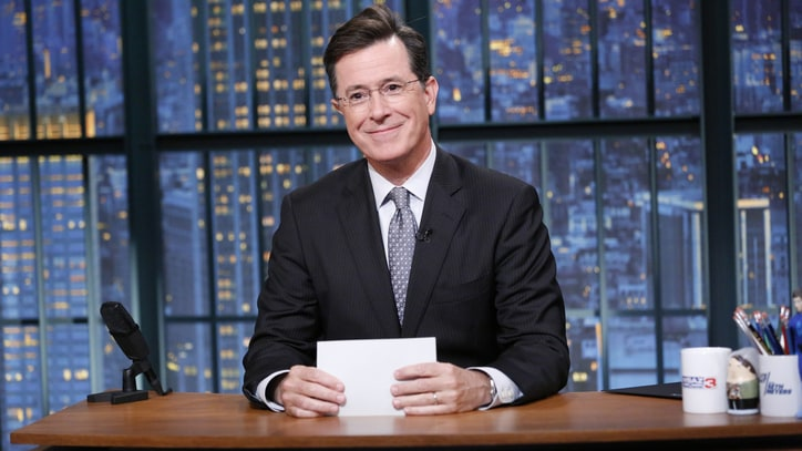 Stephen Colbert Sets 'Late Show' Start Date