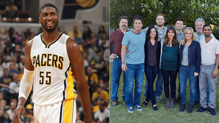 NBA's Roy Hibbert Says Goodbye to Favorite Show: 'Parks and Recreation'