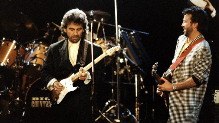 Flashback: George Harrison Plays 'Here Comes the Sun' at 1987 Charity Gig
