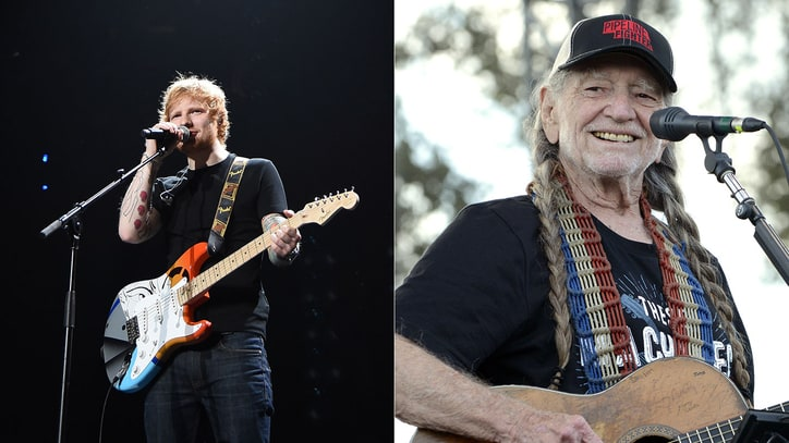 Chris Martin, Ed Sheeran, Willie Nelson Join Stevie Wonder Tribute Concert
