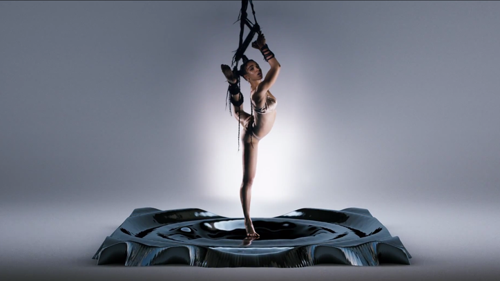 FKA Twigs Dangles by Hair Bondage-Style in 'Pendulum' Video