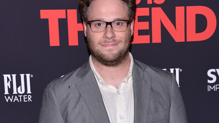 Seth Rogen Sparking Up a Christmas Stoner Movie
