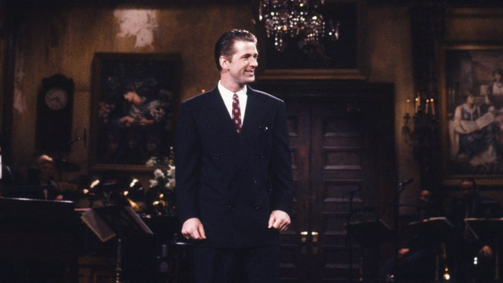 Flashback: Alec Baldwin Hosts 'SNL' For the Very First Time