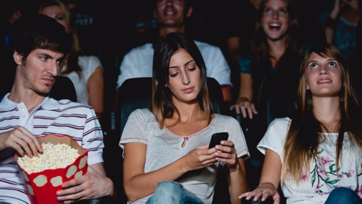 Should Movie Theaters Allow Texting?