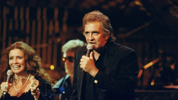 Flashback: Watch Johnny Cash Perform 'Big River' at His Rock and Roll Hall of Fame Induction