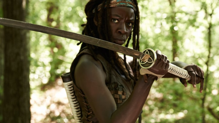 Danai Gurira: 'The Walking Dead' Reminds Me of a War Zone