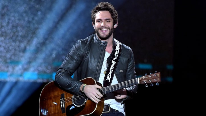 Watch Thomas Rhett Put Country Spin on Bruno Mars' 'When I Was Your Man'