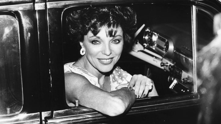 Joan Collins Needs 12 Inches