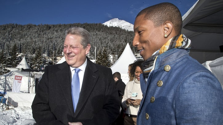 Pharrell, Al Gore Bringing Back Live Earth in 2015