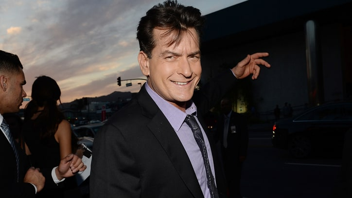 Charlie Sheen Extends an Olive Branch to Chuck Lorre