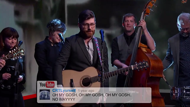 The Decemberists Sing Ridiculous YouTube Comments on 'Kimmel'