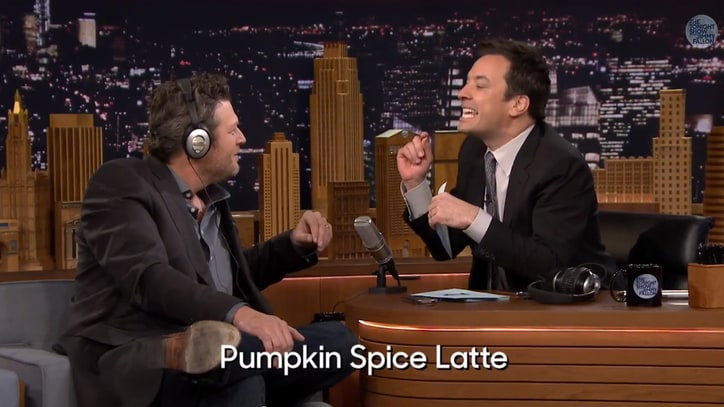 Watch Blake Shelton Suck at Jimmy Fallon's 'Whisper Challenge'