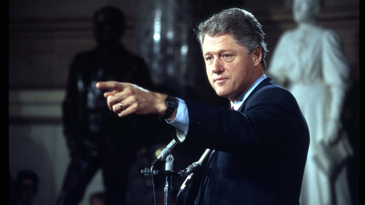 Bill Clinton Goes Right Toward Consensus
