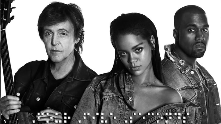 Paul McCartney, Kanye West, Rihanna Team Up for 'FourFiveSeconds'