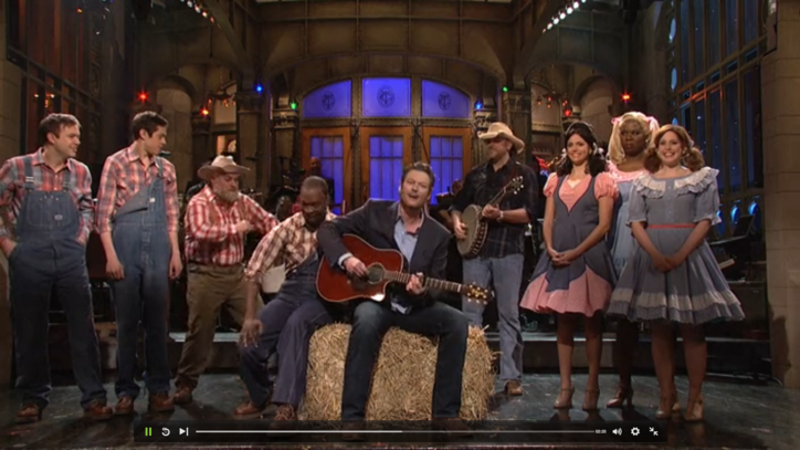 Blake Shelton on 'SNL': 3 Sketches You Have to See