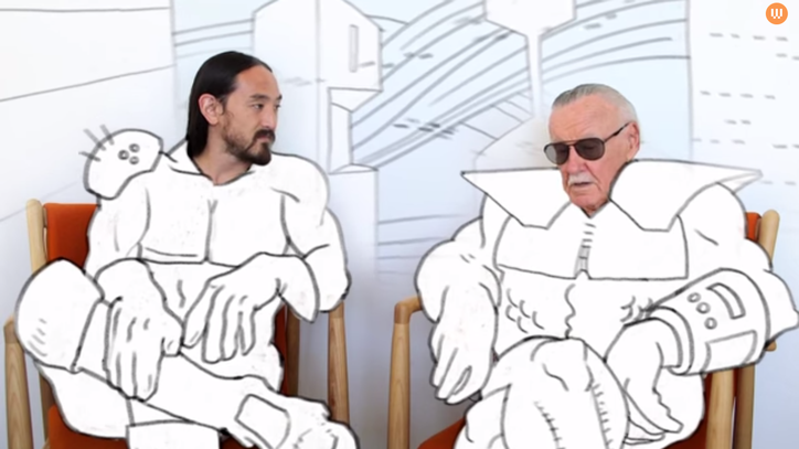 Stan Lee: 'Eventually, the World Will Blow Itself Up'