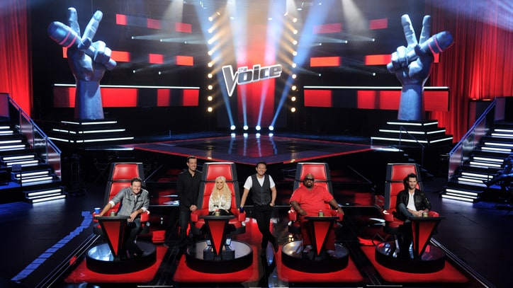 'The Voice': Three Men and a Diva