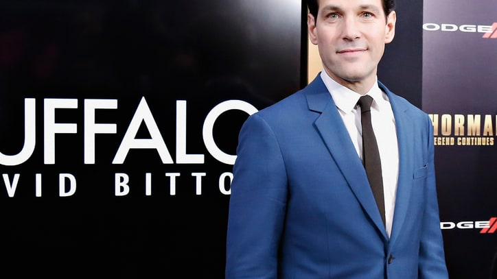 Paul Rudd Suits Up for 'Ant-Man' Movie