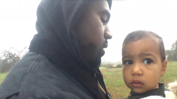 Watch Kanye West Serenade Daughter in Heartwarming 'Only One' Video