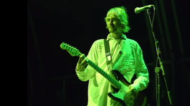Flashback: Nirvana Play a Bit of Boston's 'More Than a Feeling'