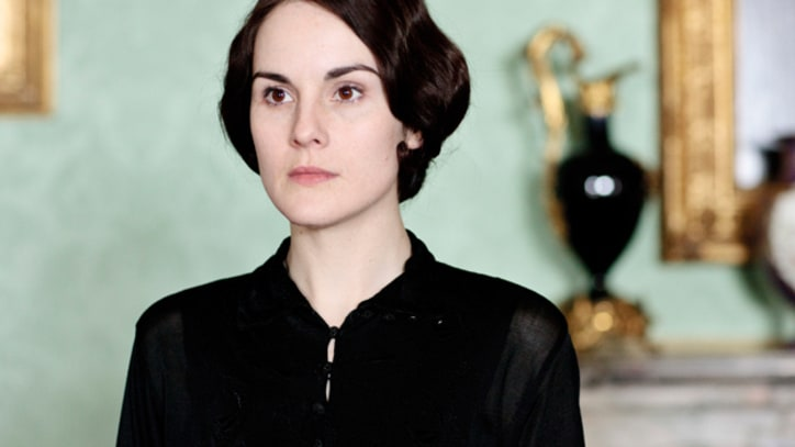 Lady Mary Is Back in Black on 'Downton'