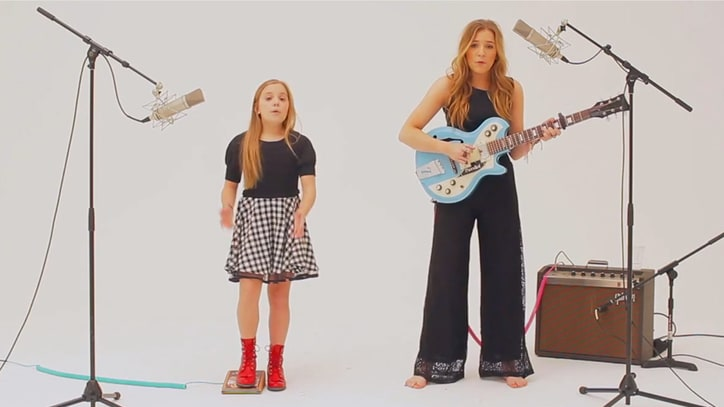Watch Lennon and Maisy's Pristine Cover of Charli XCX's 'Boom Clap'