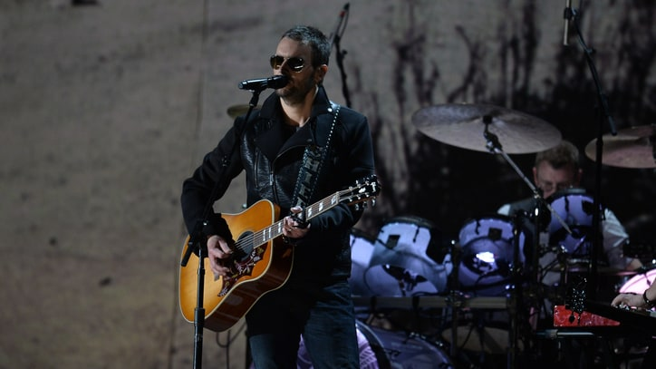Eric Church Performs Understated 'Hometown' at the Grammys