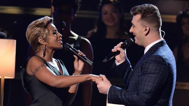 Watch Sam Smith, Mary J. Blige Perform Emphatic 'Stay With Me' at Grammys