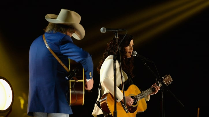 Watch Brandy Clark Perform 'Hold My Hand' With Dwight Yoakam at the Grammys