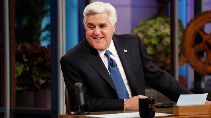 Watch Jay Leno's Final, Emotional Farewell to 'The Tonight Show'