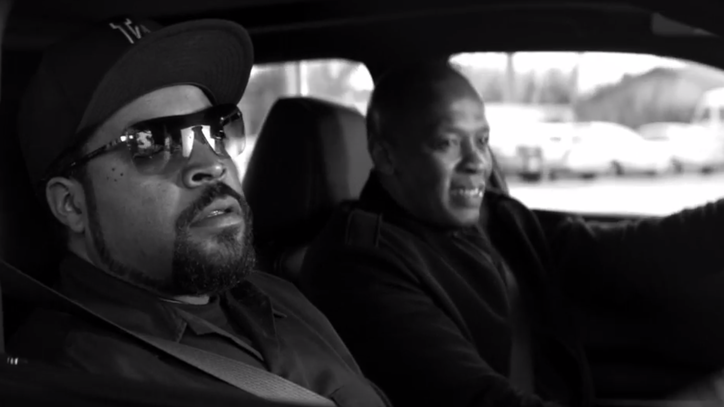 Watch the Red-Band Trailer for N.W.A's  Biopic 'Straight Outta Compton'