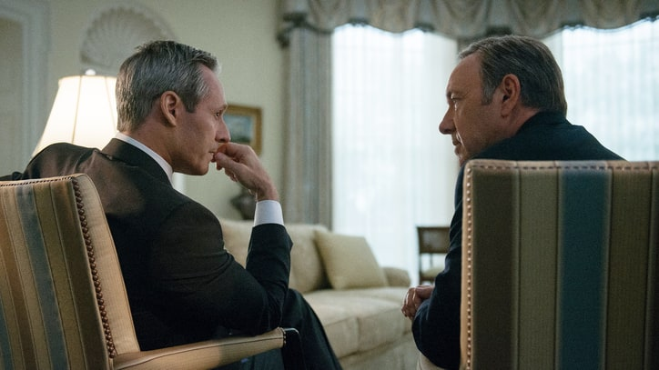 President Walker Addresses the Dark Romance of 'House of Cards'