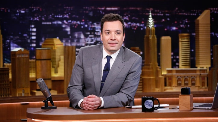 Jimmy Fallon Is Right at Home on 'The Tonight Show'