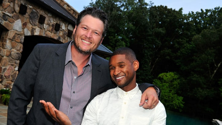 Watch Usher Put Killer R&B Spin on Blake Shelton's 'Neon Light' and 'Home'