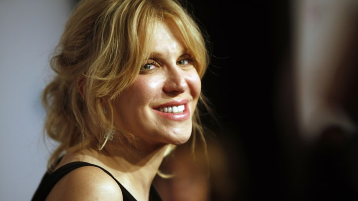 Courtney Love Talks Dave Grohl Bond, Drugs, 'Montage of Heck' Doc on 'Letterman'