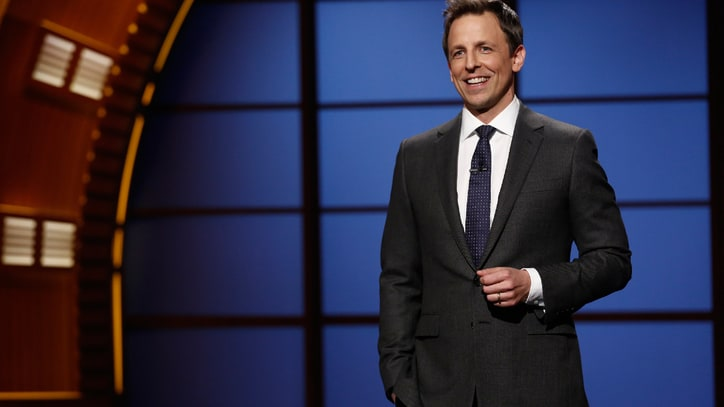 Seth Meyers Makes His Low-Key 'Late Night' Debut