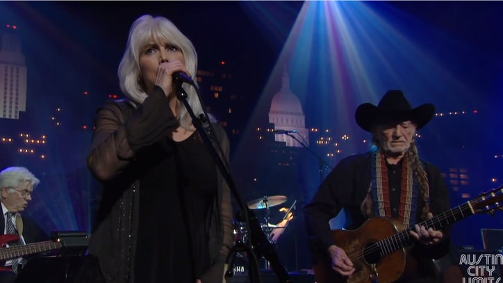 Watch Emmylou Harris and Willie Nelson's 'Crazy' Duet on 'Austin City Limits'