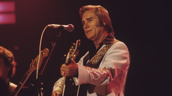 Flashback: George Jones Gets 'Lucky' With Merle Haggard Song