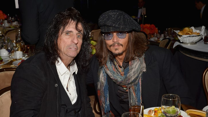 Johnny Depp, Alice Cooper, Joe Perry Form Hollywood Vampires Supergroup