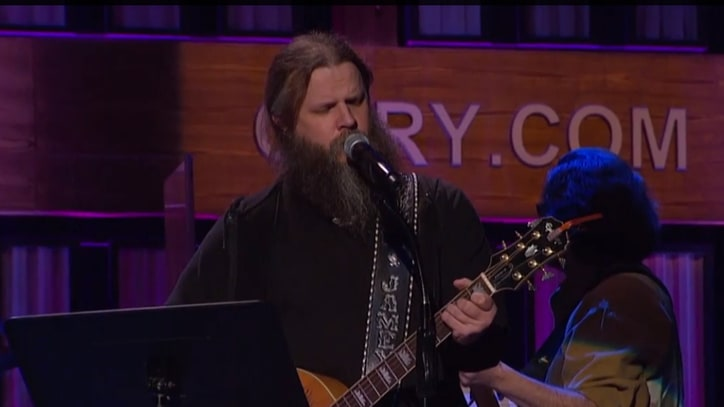Watch Jamey Johnson Channel Willie Nelson on the Grand Ole Opry