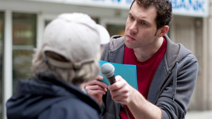 Q&A: Life on the Street With Billy Eichner