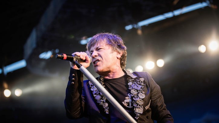 Iron Maiden Singer Reveals Cancer Battle, 'Extremely Good' Prognosis
