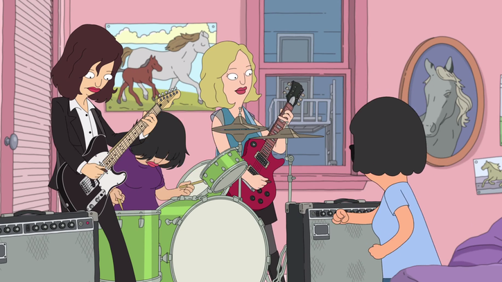 Watch Sleater-Kinney Rock Out With 'Bob's Burgers' in New Video
