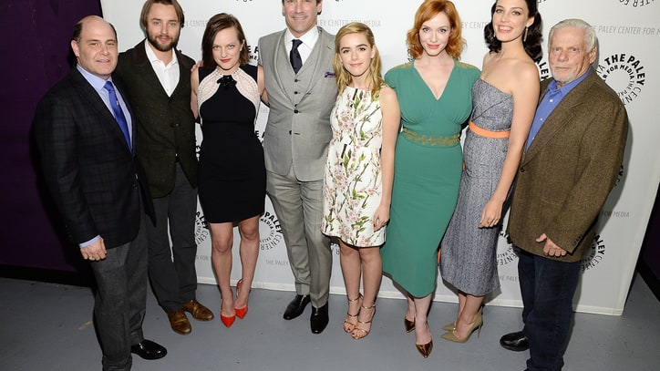 'Mad Men' Cast and Creator Face the End of the Series