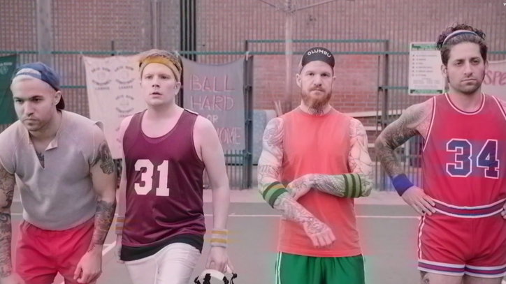 Fall Out Boy Take Jock Jams to Basketball Court in 'Irresistible' Video