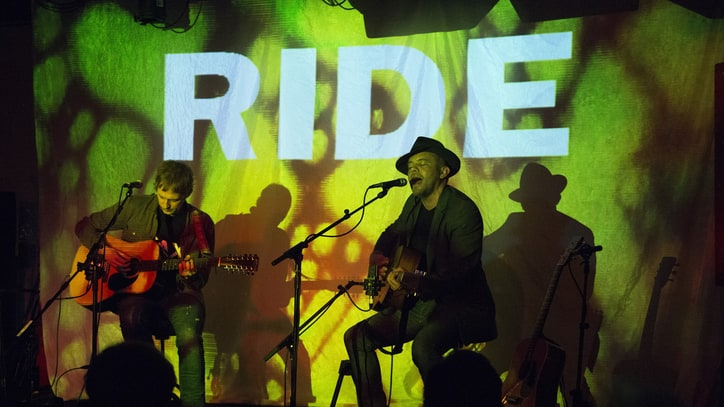 Shoegaze Legends Ride Go Acoustic at First Show in 20 Years