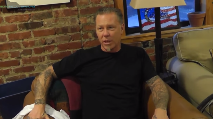 Metallica's James Hetfield: 'Playing Music Saves My Life'
