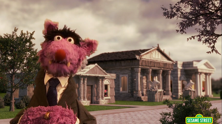 'Frank Underwolf' Huffs and Puffs in 'Sesame Street' 'House of Cards' Parody